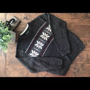 🍉2$/25 David Taylor Marled Nordic Isle Sweater